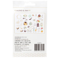Along The Way Ephemera Icons Cardstock Die-Cuts 40/Pk - 3