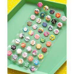 Brave & Bold Mini Puffy Stickers 45/Pkg - 3