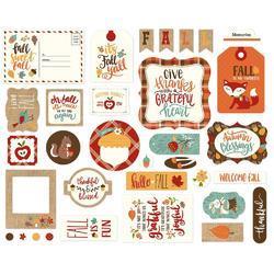 Celebrate Autumn Cardstock Icons Die-Cuts 33/Pkg - 3