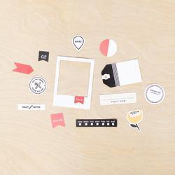 Click Project Life Ephemera Die-Cut Shapes 40/Pkg - 3
