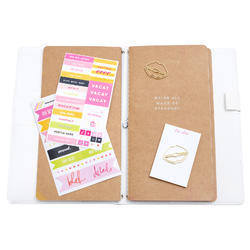 Color Fresh Personal Memory Pink Glitter Planner Boxed Kit - 3