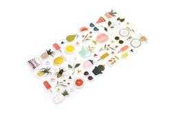 Goldenrod Puffy Stickers 44/Pkg - 3
