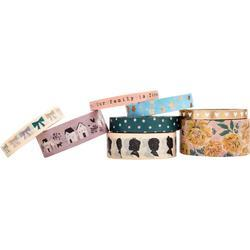 Heritage Washi Tape 8/Pkg - 3