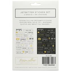Jetsetter Designer Stickers 2/Sheets - 3
