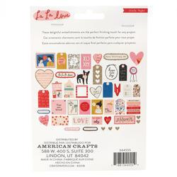 La La Love Ephemera Cardstock Die-Cuts 44/Pkgg - 3