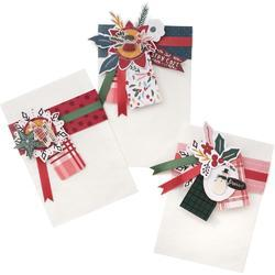 "Snowflake Crate Paper Single-Sided Paper Pad 12""X12"" 48/Pkg - 3"