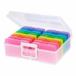 """We R Craft & Photo Translucent Plastic Storage 15""""X12""""X5"""", w/16 Mini Cases - 3"""