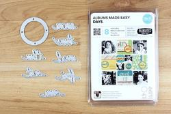Albums Made Easy Days Dies 9pkg - 3