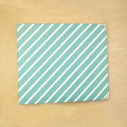 "Awesome Diagonal Stripes Designer D-Ring Album 12""X12"" - 3"