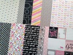 "Bella Rouge Paper Pad 12""x12"" - 3"