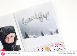 Bella Rouge Puffy Silver Glitter Stickers - 3