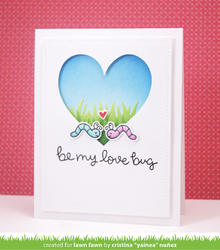 Bugs & Kisses Clear Stamps - 3
