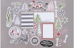 Candy Cane Lane Ephemera Cardstock Die-Cuts - 3