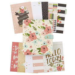 Carpe Diem A5 Planner Boxed SET Cream Blossom - 3