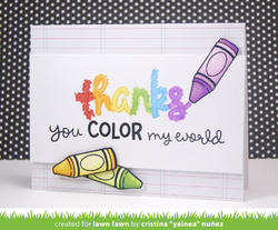 Color My World Clear Stamps - 3
