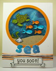Critters In The Sea Clear Stamps - 3