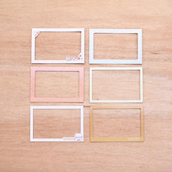Currently Die-Cut Chipboard Photo Frames - 3
