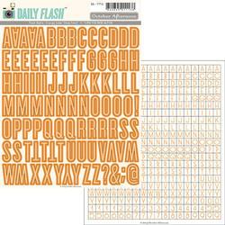 Daily Flash Alpha Orange Soda Stickers - 3