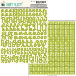 Daily Flash Alpha Snap Peas  Stickers - 3