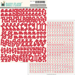 Daily Flash Alpha Stop Light Stickers - 3
