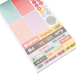 Designer #Sticker Book Amy Tan w/Gold Foil - 3