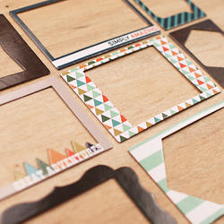 Explore Die-Cut Chipboard Photo Frames - 3