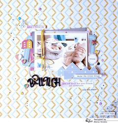 Felicity Foam Alpha Stickers - 3