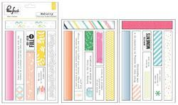 """Felicity Washi Tape Stickers 4""""x6"""" 3 sheets - 3"""