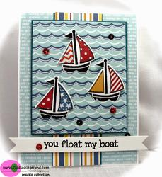 Float My Boat Clear Stamps - 3