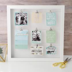 Hello Beautiful Wooden Pocket Cards Embellishments - 3