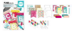 FUSEables Dear Lizzy Banner & Cupcake Topper Kit - 3