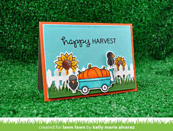 Happy Harvest Clear Stamps - 3