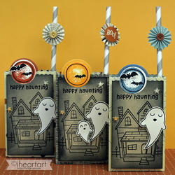 Happy Haunting Clear Stamps - 3