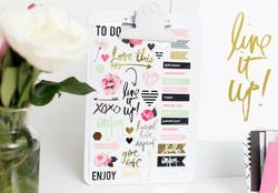 Hello Beautiful Sheer Stickers - 3