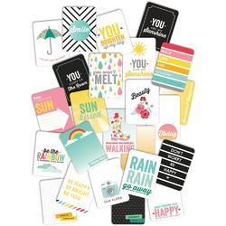 Hello Sunshine Pocket Cards 3x4 24pkg - 3