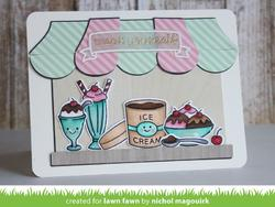 Here's The Scoop Clear Stamps - 3