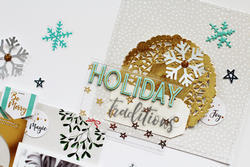 "Oh Joy Chipboard Alpha wGold Foil 5.5""X11"" - 3"