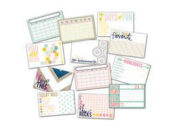 Hello Today Titles & Days Of The Week Pocket Cards 4x6 - 3