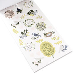 Designer #Sticker Book Jen Hadfield w/Gold Foil - 3
