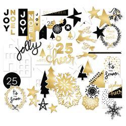 Joyful Mixed Bag Cardstock Die-Cuts 58/Pkg - 3
