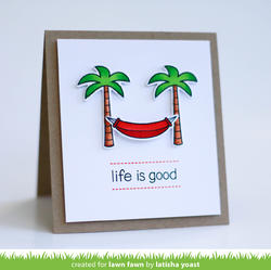 Life is Good Clear Stamps - 3