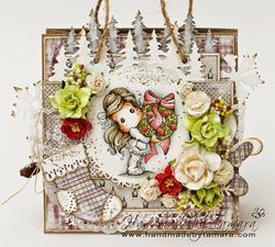 Magnolia - Tilda wApple Wreath - 3