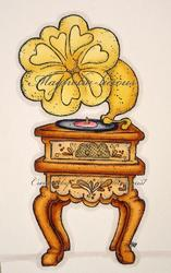 Magnolia - Vintage Gramophone - 3