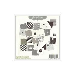 """Merry & Bright Countdown Cards 4""""x4"""" 25 pkg - 3"""