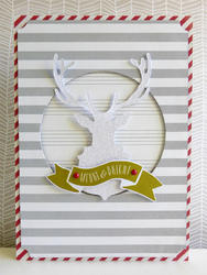 Merry & Bright Ephemera Cardstock Die-Cuts w/Glitter 70 pkg - 3