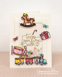 Pa-Rum-Pa-Pum-Pum Clear Stamps - 3