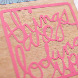 Phrase Die-Cuts Cards 4x4 Project Life® - 3