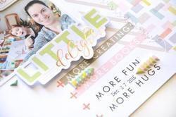 """Live More Puffy Stickers 5""""x7"""" - 3"""