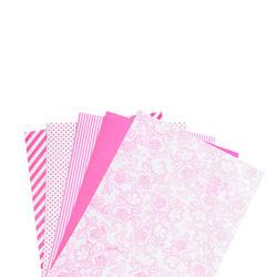 """Shape 'n Tape Washi Sheets Hot Pink 6""""X12"""" 5/Pkg - 3"""