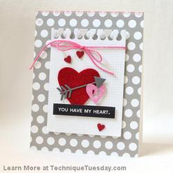 Heart Die Card - 3